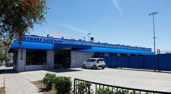 network auto body opens new location in beverly blvd