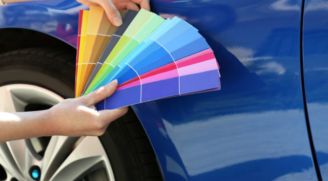 How Auto Body Repair Shops Match Paint to Your Vehicle