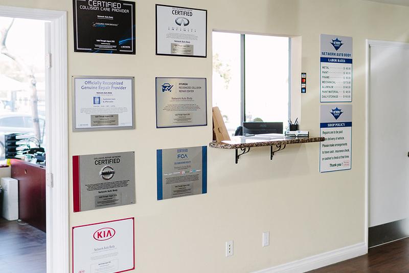 Networkautobody certifications