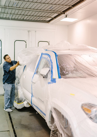 Auto body color matching